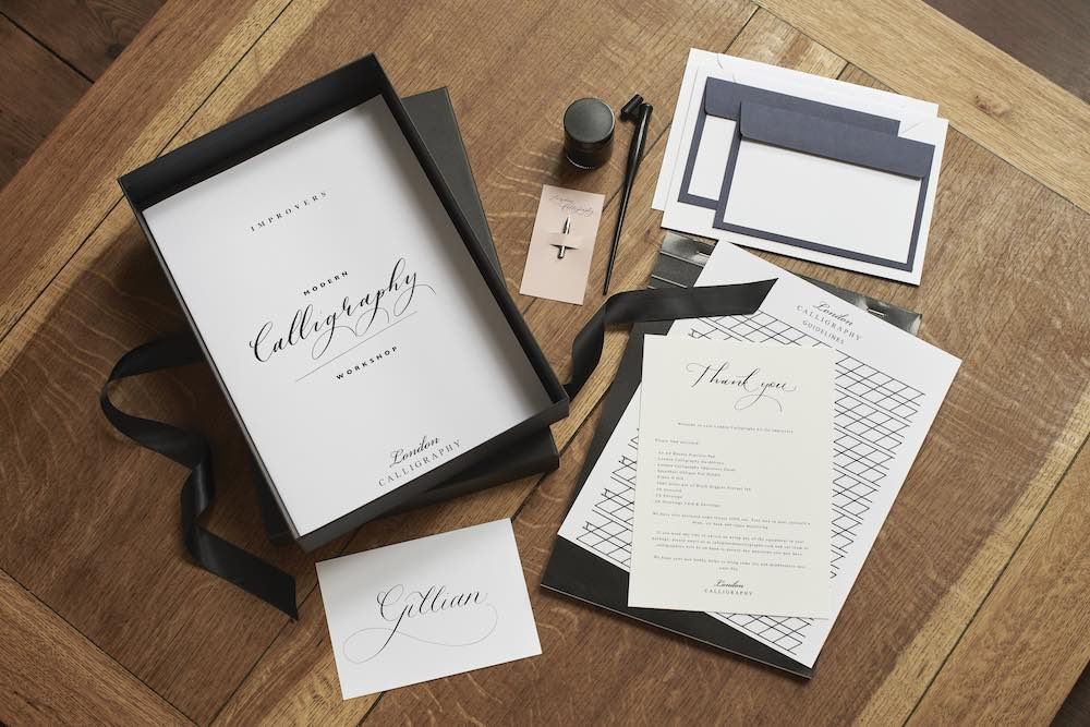 London Calligraphy Set - For Improvers