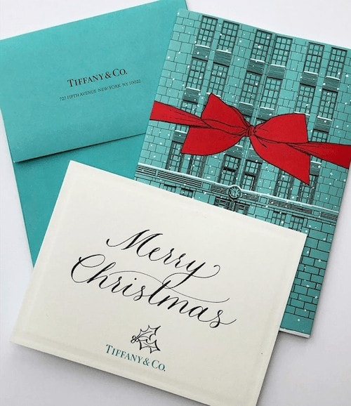 PERSONALISED GREETINGS CARDS, TIFFANY & CO.