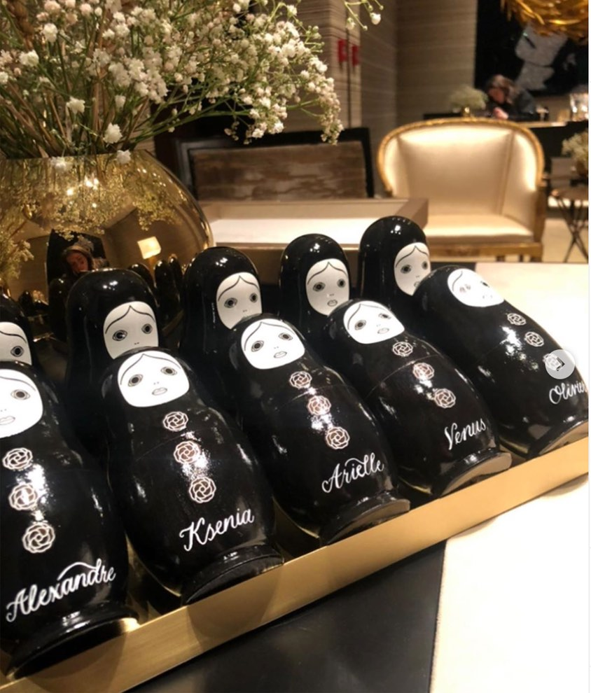PERSONALISED RUSSIAN DOLLS, CHANEL