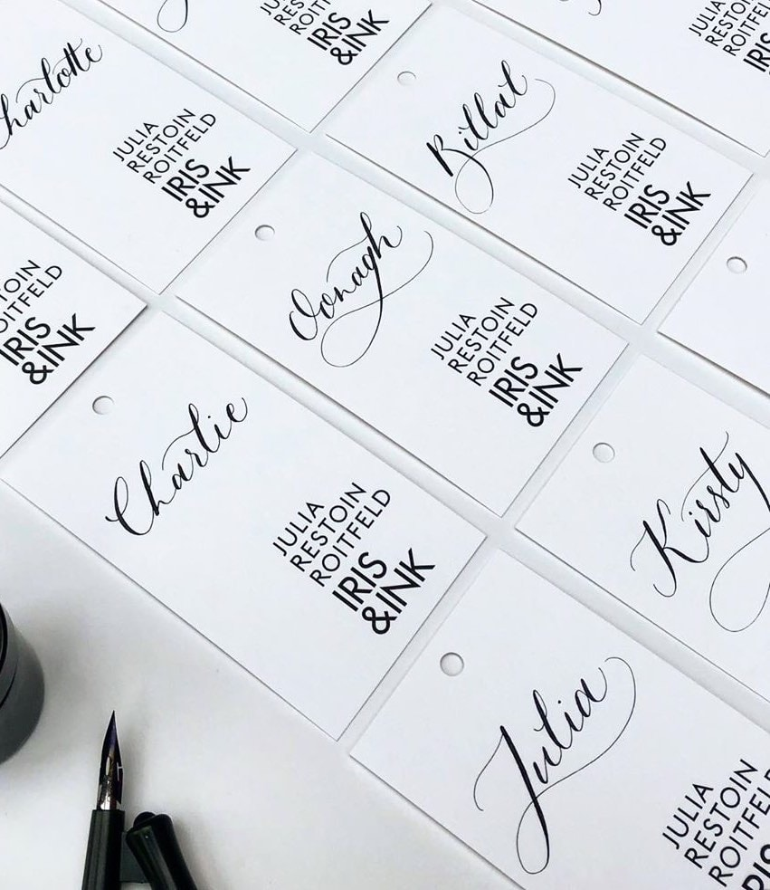 PLACE NAMES, NET A PORTER WEDDING