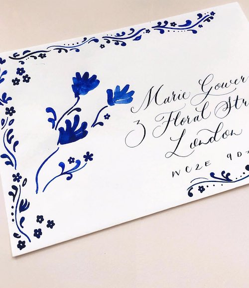 HAND PAINTED ENVELOPES