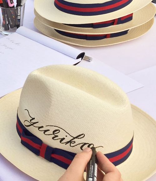 PERSONALISED HATS, GUARDS POLO CLUB