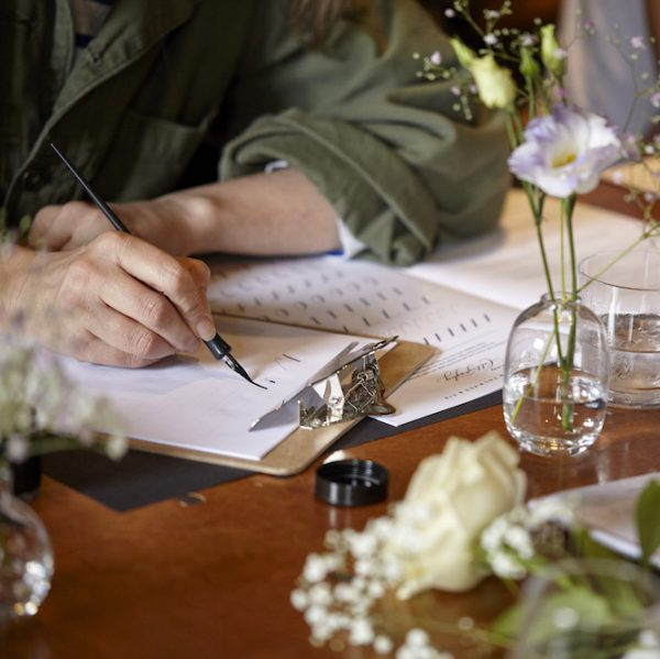 MODERN CALLIGRAPHY COURSE FOR BEGINNERS Monday 26th October 6:30pm-8:30pm