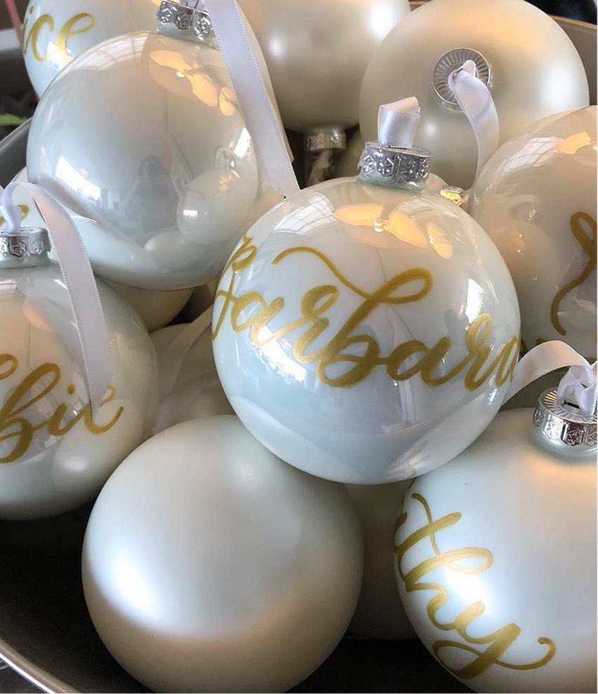PERSONALISED BAUBLES, NET A PORTER